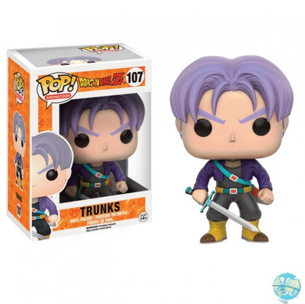 Dragonball Z - Trunks Figur - POP: Funko