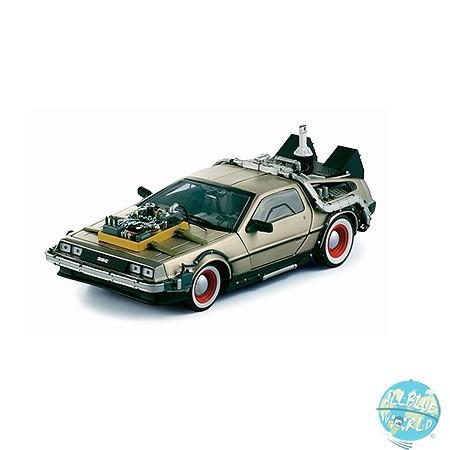 Zurück in die Zukunft III - DeLorean Diecast Modell / 87er LK Coupe: Sun Star Toys