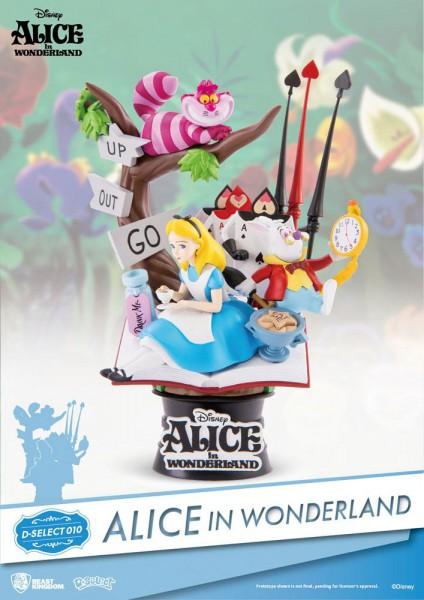 Disney - Alice im Wunderland Diorama / D-Select: Beast Kingdom Toys