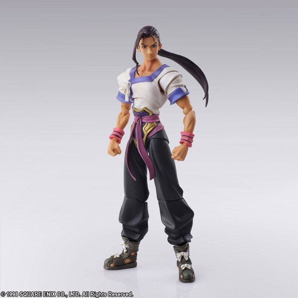Xenogears - Fei Fong Wong Actionfigur / Bring Arts: Square Enix