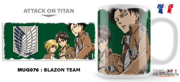 Attack on Titan - Tasse / Team: Unekorn