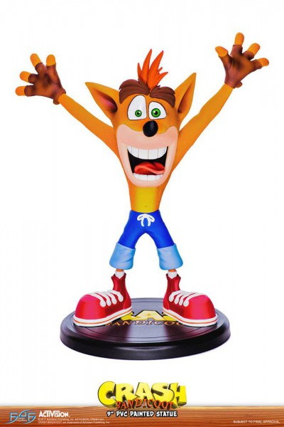 Crash Bandicoot N. Sane Trilogy - Crash Bandicoot Statue: First 4 Figure