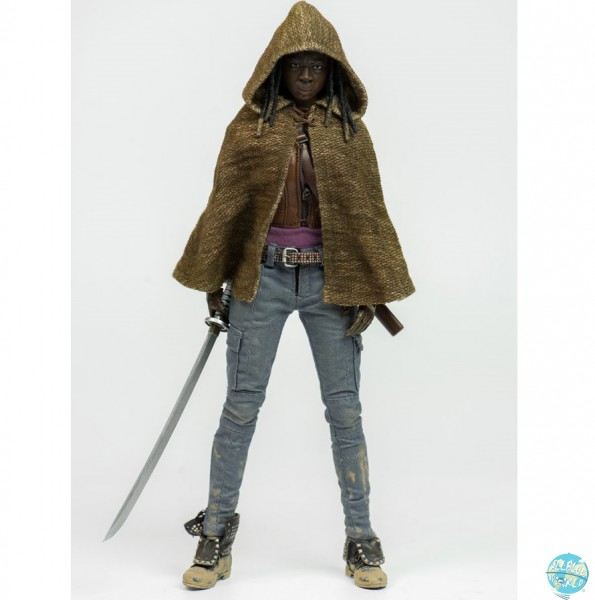 The Walking Dead - Michonne Actionfigur: ThreeZero