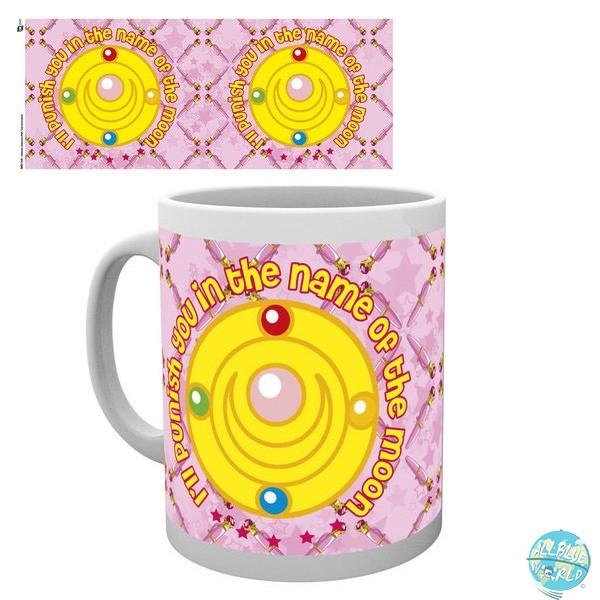 Sailor Moon - Tasse - Name Of The Moon: GYE
