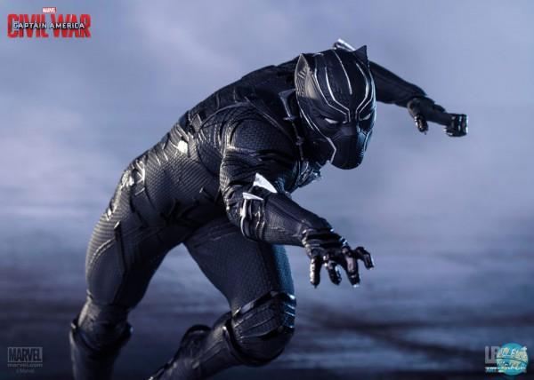 Captain America Civil War - Black Panther Statue: Iron Studios