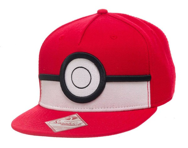 Pokemon - 3D Poke Ball Hip Hop Cap - Snap Back: Bioworld