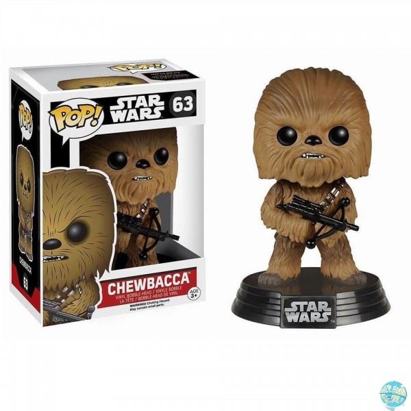 Star Wars Episode VII - Chewbacca Figur - POP: Funko