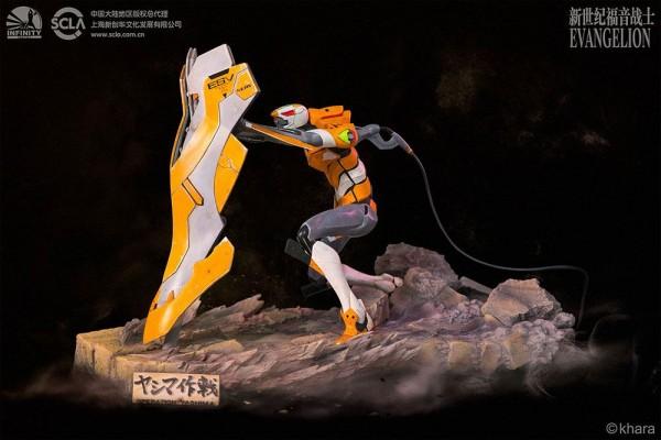 Neon Genesis Evangelion - EVA Unit-00 Prototype Statue / Operation Yashima: Infinity Studio
