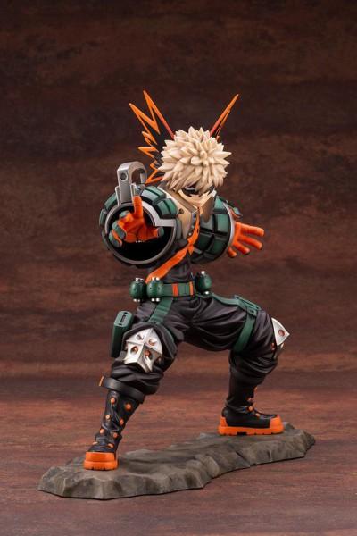 My Hero Academia - Katsuki Bakugo Statue / ARTFXJ: Kotobukiya