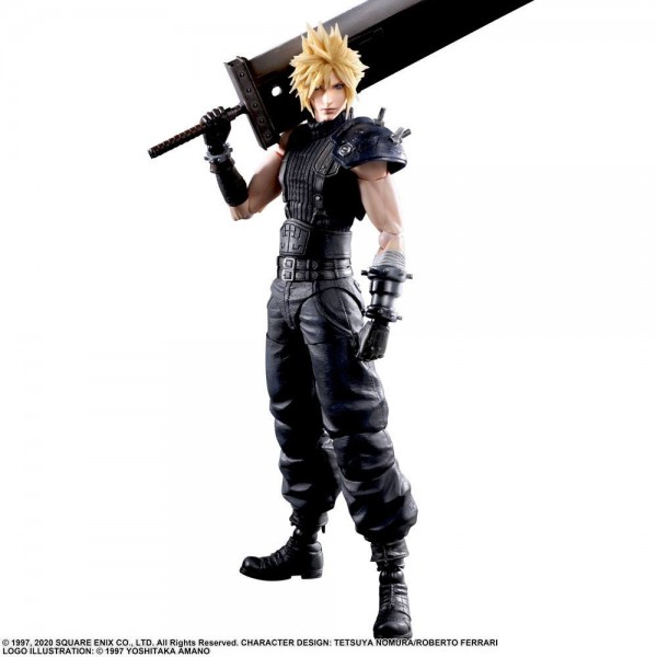 Final Fantasy VII Remake - Cloud Strife Actionfigur / Play Arts Kai: Square Enix