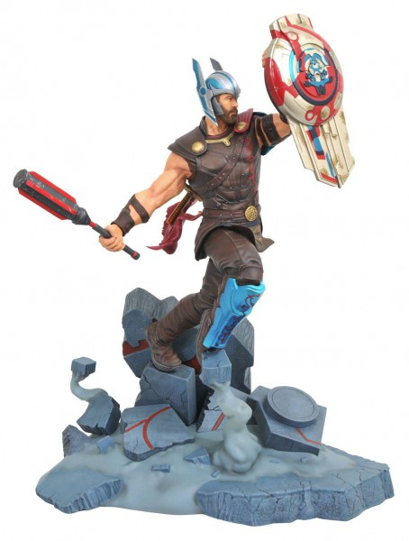 Thor Tag der Entscheidung - Gladiator Thor Statue / Marvel Movie Milestones: Diamond Select