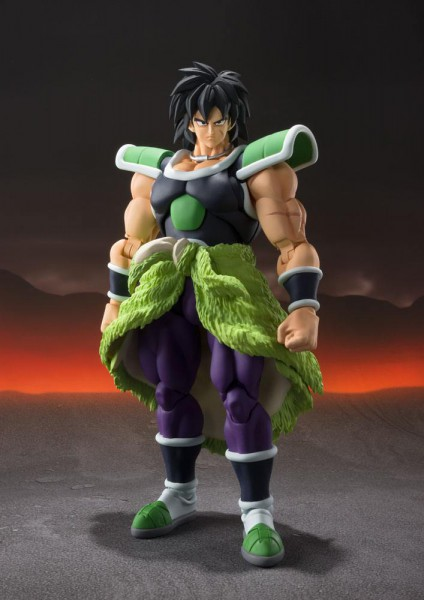 Dragon Ball - Broly Actionfigur / S.H.Figuarts - Fullpower Version: Tamashii Nations