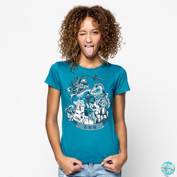 Homenaje Miyazaki - Motivshirt / Girls: Pampling