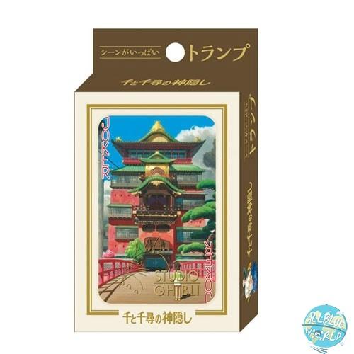 Studio Ghibli - Spielkarten - Chihiros Reise ins Zauberland: Benelic