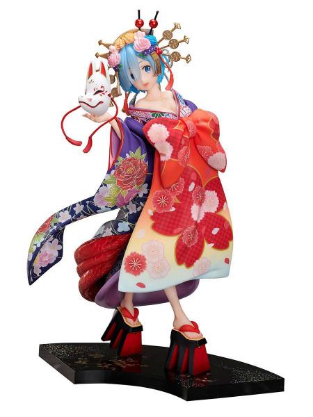 Re:Zero Starting Life in Another World - Rem Statue / F:Nex / -Oiran Dochu- : Furyu