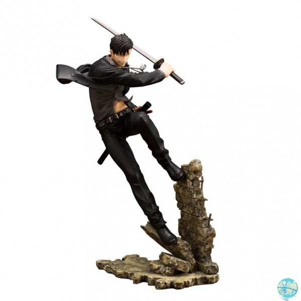 Gangsta - Nicolas Brown Statue - ARTFX J: Kotobukiya