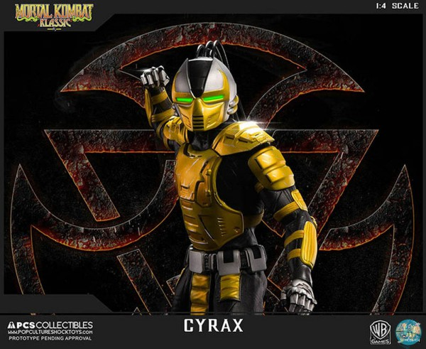 Mortal Kombat - Cyrax Statue: Pop Culture Shock