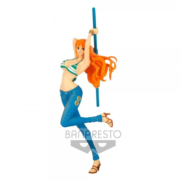 One Piece - Nami Figur / Lady Fight!!: Banpresto