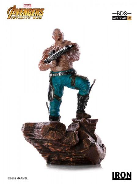 Avengers Infinity War - Drax Statue / BDS Art Scale: Iron Studios