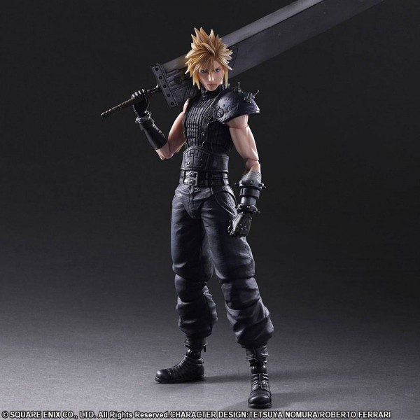Final Fantasy VII Remake - Cloud Strife Actionfigur - No.1 Play Arts Kai: Square Enix