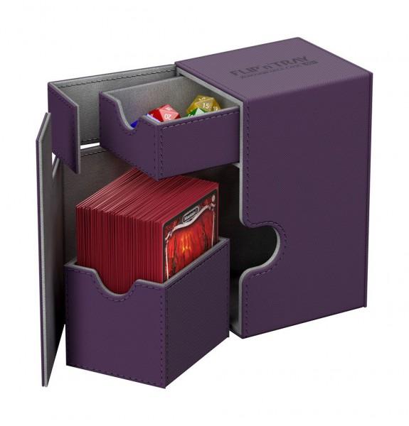 Ultimate Guard - Flip 'n' Tray Deck Case 80+ / XenoSkin Violett