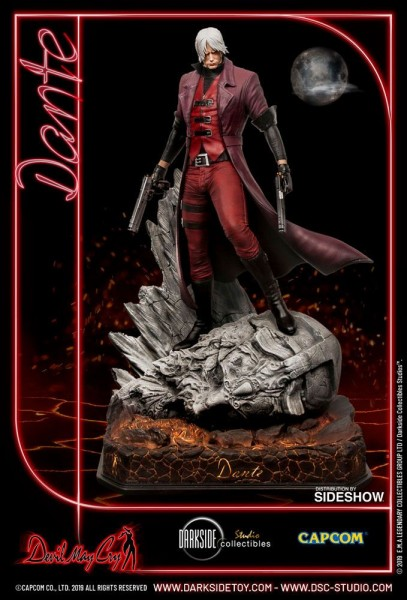 Devil May Cry - Dante Statue: DarkSide Collectibles Studio