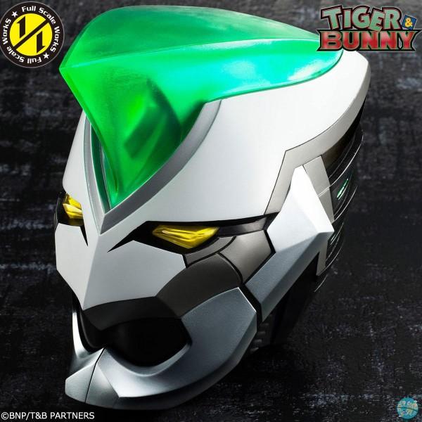 Tiger & Bunny - Wild Tiger Helm Replika: MegaHouse