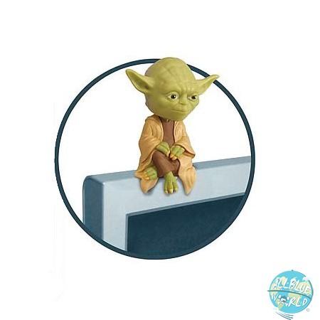 Star Wars Yoda Wackelkopf Figur - Sitter Computer: Funko