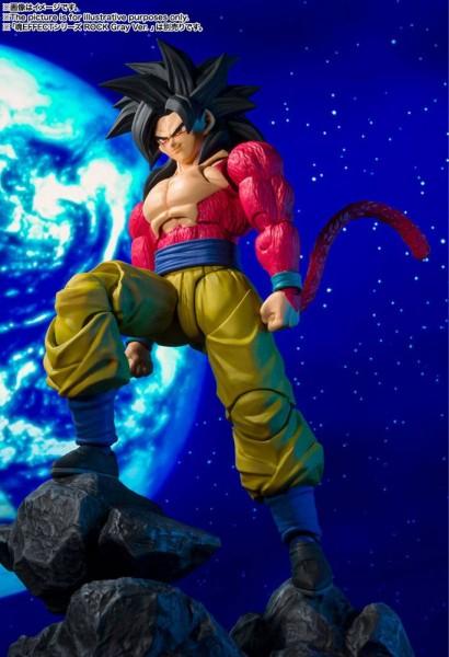 Dragonball - SSJ4 Son Goku Actionfigur / S.H. Figuarts - Final Form: Tamashii Nations-Copy
