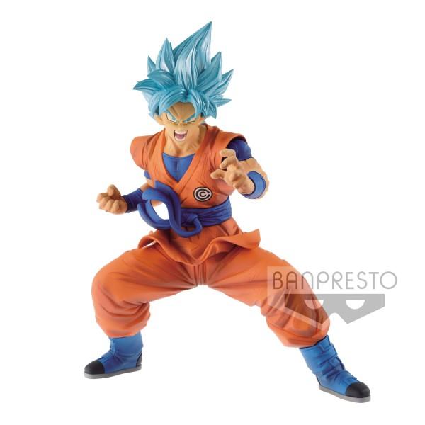 Dragonball - SSGSS Son Goku Figur / ranscendence Art: Banpresto