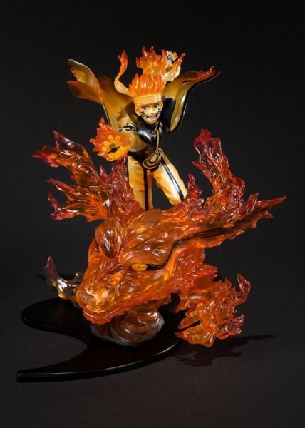 Naruto Shippuden - Naruto Uzumaki Statue / Kurama Version: Bandai