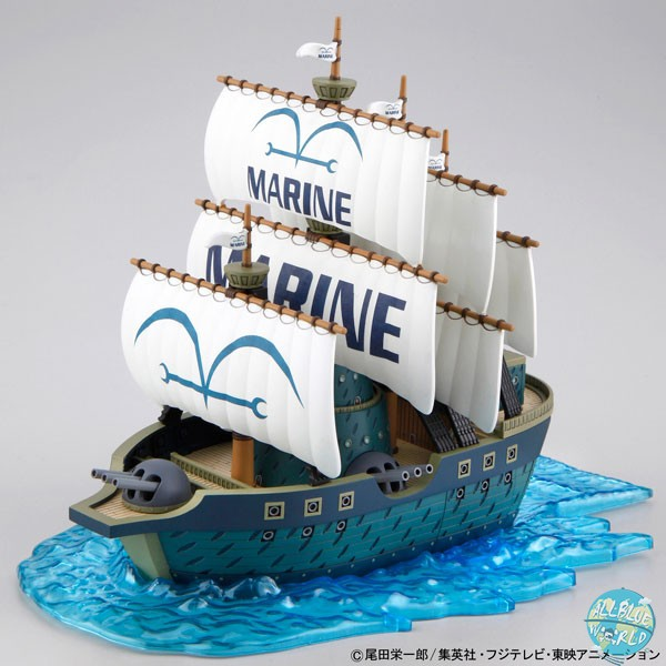 One Piece - Marine Ship Modell-Kit - Grand Ship Collection: Bandai