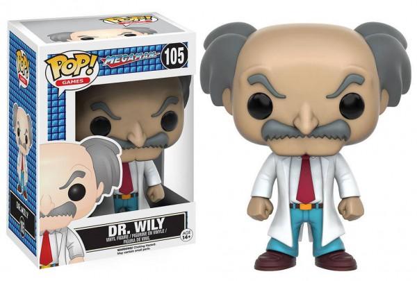 Mega Man - Dr. Wily Figur - POP: Funko