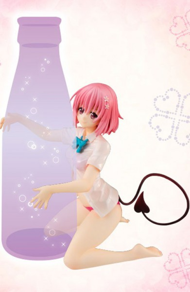 To Love-Ru Darkness - Momo Belia Deviluke Figur / Drink Holder: Furyu