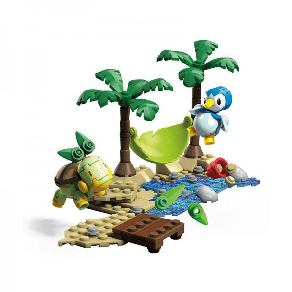 Pokémon - Plinfa vs. Chelast Bauset / Mega Construx: Mattel