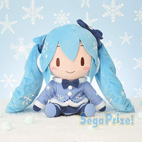 Vocaloid - Hatsune Miku Plüschi / Snow Miku 2012 Version: Sega