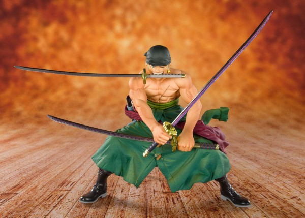 One Piece - Zorro Figur / FiguartsZERO: Tamashii Nations