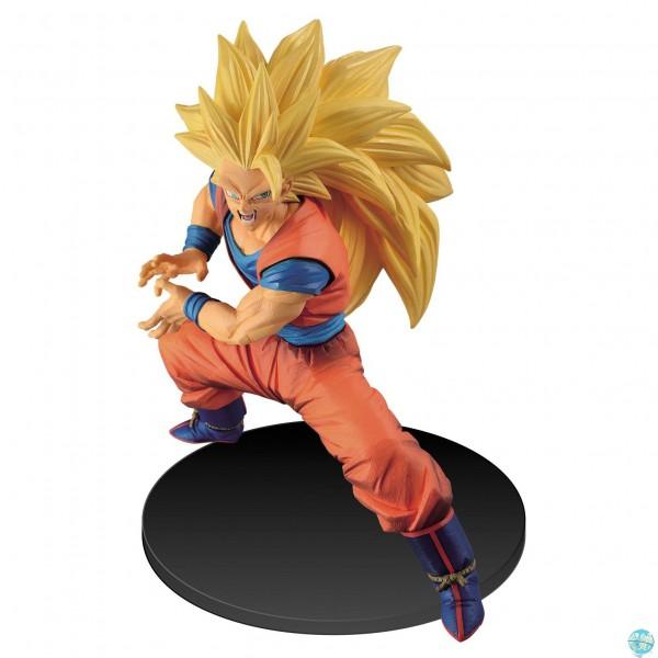 Dragonball Super - SSJ3 Son Goku Figur: Banpresto