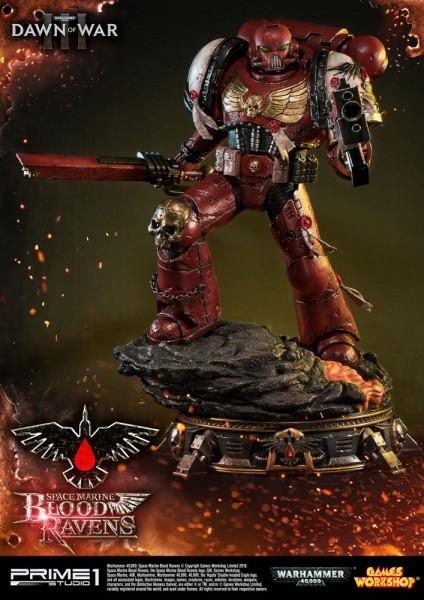 Warhammer 40K Dawn of War III - Space Marine Blood Ravens Statue: Prime 1 Studio