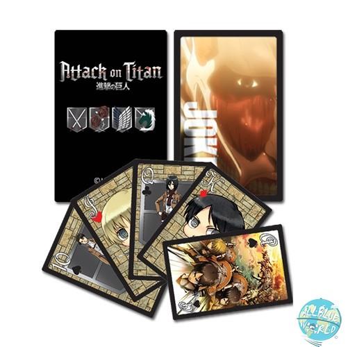 Attack on Titan - Kartenspiel / Poker: GE Animation