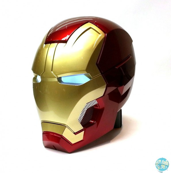 Avengers Age of Ultron - Bluetooth-Lautsprecher - 1/1 Replika Iron Man Mark XLIII Helm: Camino
