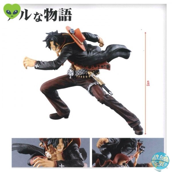 One Piece - Portgas D. Ace Figur - Zoukei Monogatari Special Color: Banpresto