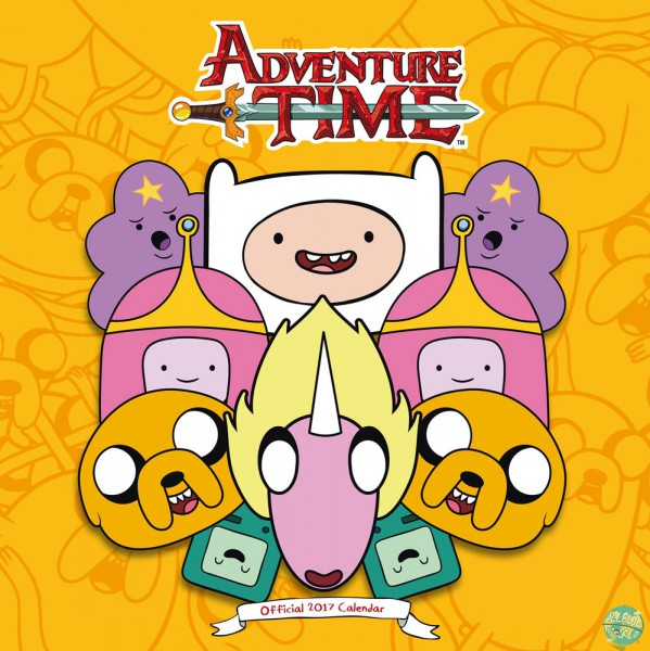 Adventure Time - Kalender 2017 *Englische Version*: Danilo