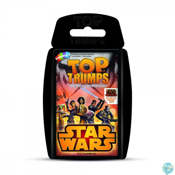 Star Wars Rebels Kartenspiel Top Trumps - Deutsche Version: Winning Moves