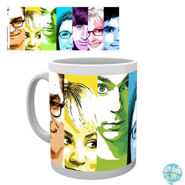 Big Bang Theory - Tasse - Rainbow Faces: GYE