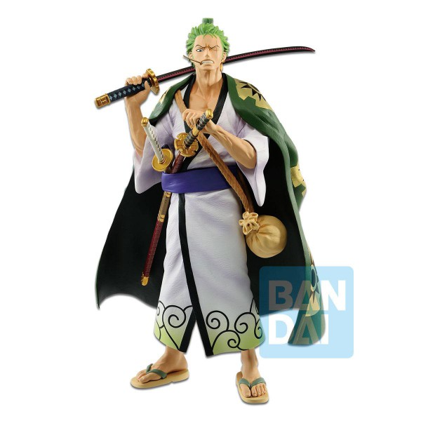 One Piece - Lorenor Zorro Figur / Japanese Style: Banpresto