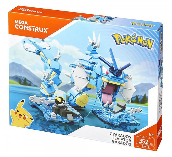 Pokémon - Garados Bauset / Mega Construx: Mattel