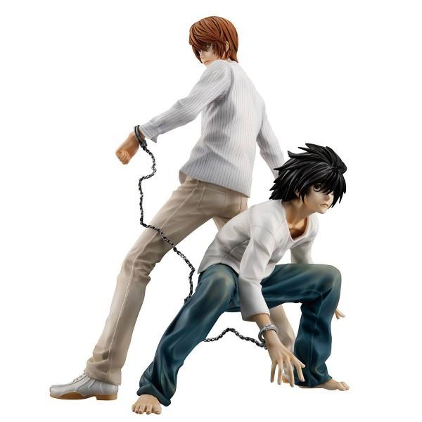 Death Note - Yagami Light & L Statue / G.E.M. Series: MegaHouse