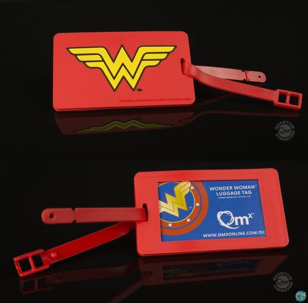 DC Comics - Wonder Woman Kofferanhänger - Q-Tag: Quantum Mechanix