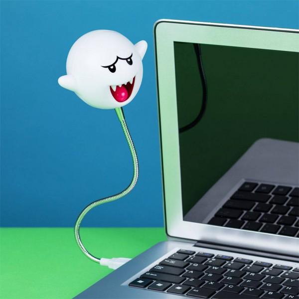 Super Mario - LED-USB-Lampe / Boo: Paladone